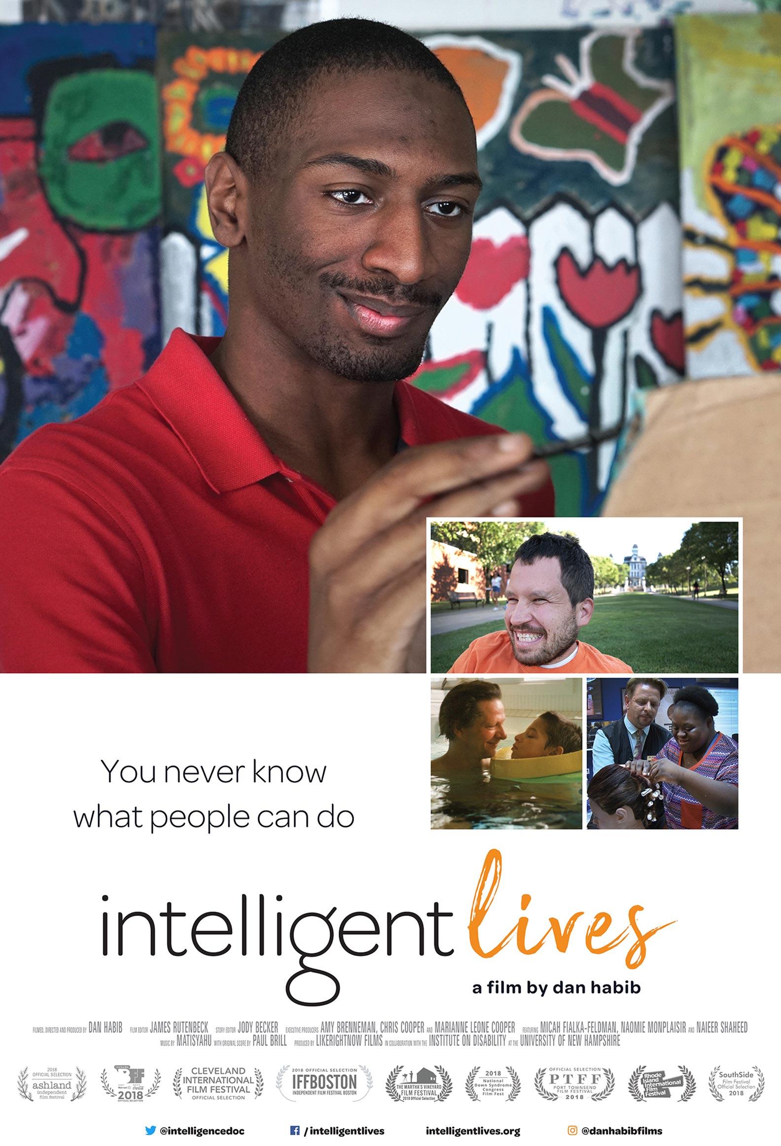 Intelligent Lives Poster #1