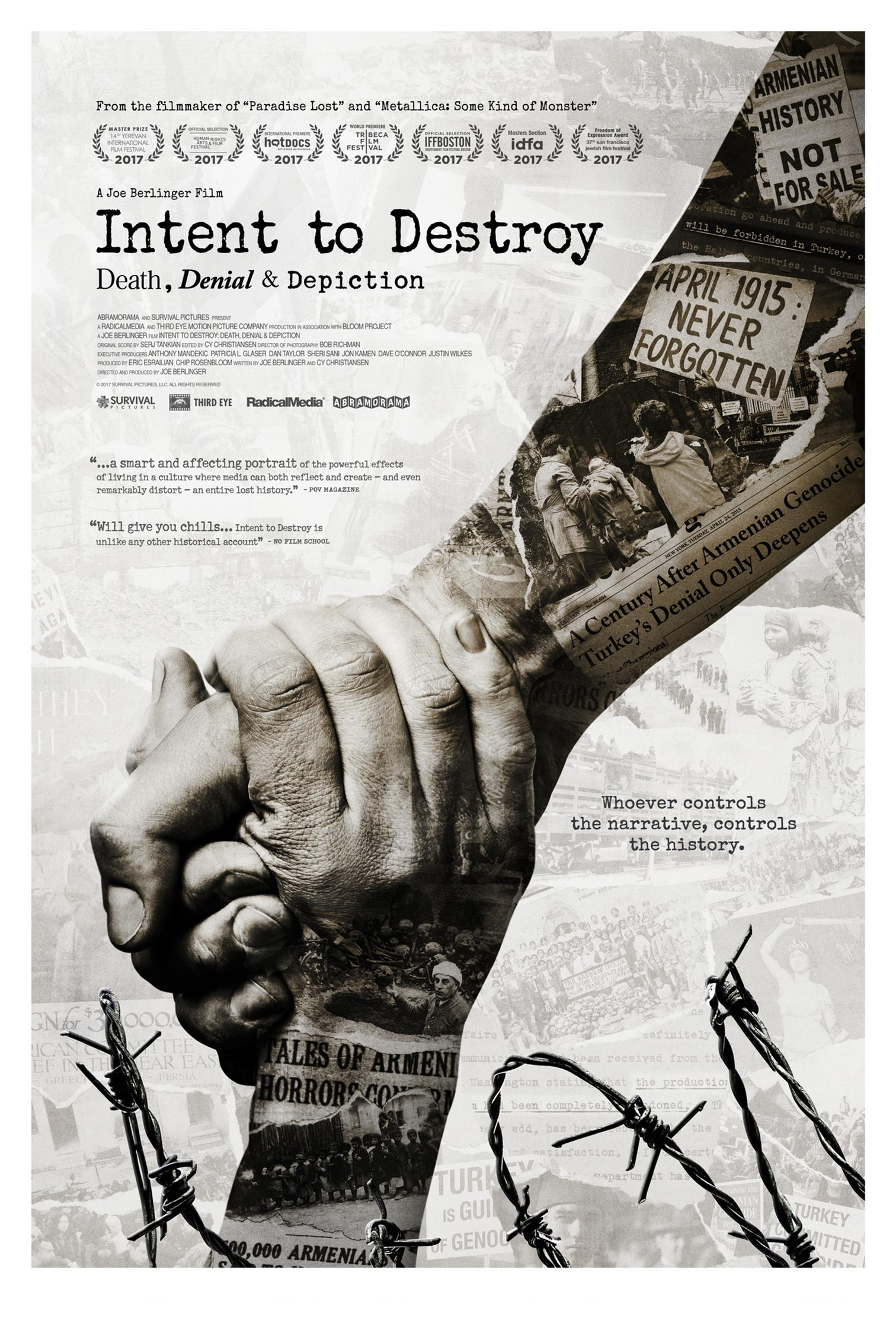 Intent to Destroy Poster #1