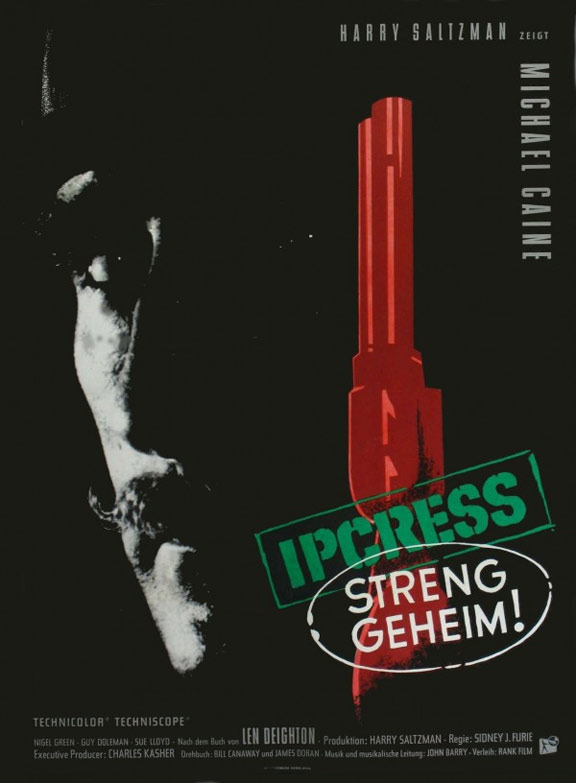 The Ipcress File Poster #2