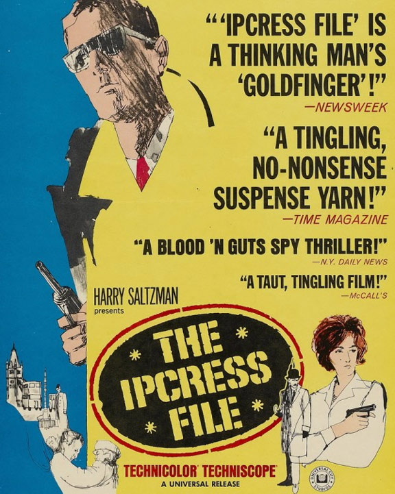 The Ipcress File Poster #4