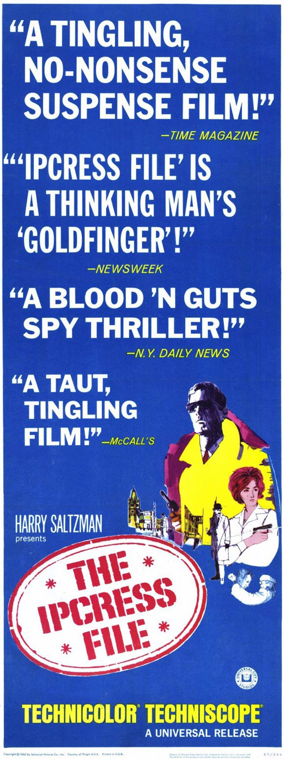 The Ipcress File Poster #5