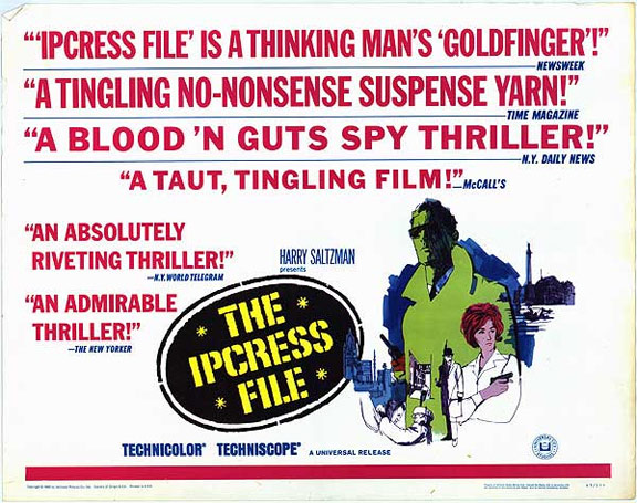 The Ipcress File Poster #6