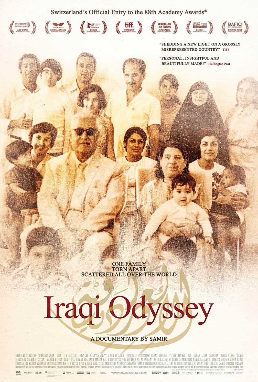 Iraqi Odyssey Poster #1
