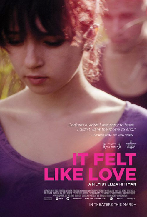 It Felt Like Love Poster #2