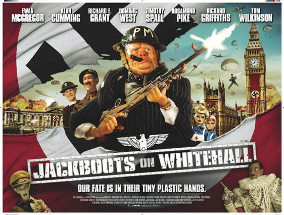 Jackboots on Whitehall Poster #2