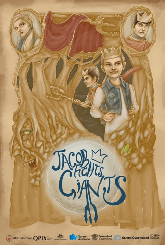 Jacob Fights Giants Poster #1
