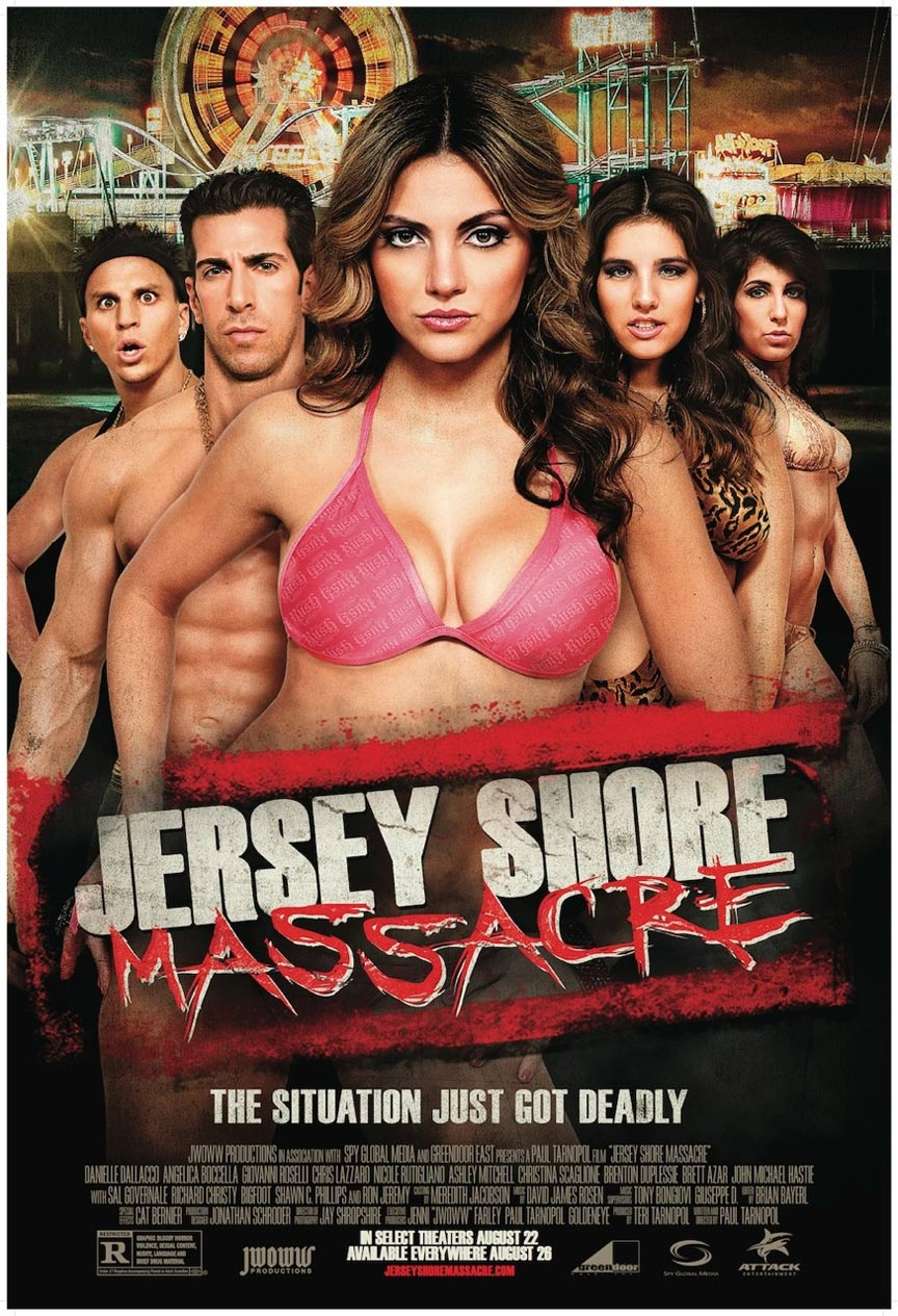 Jersey Shore Massacre Poster #1