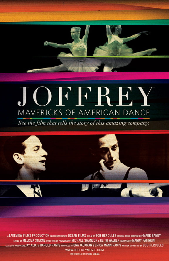 Joffrey Mavericks of American Dance Poster #1
