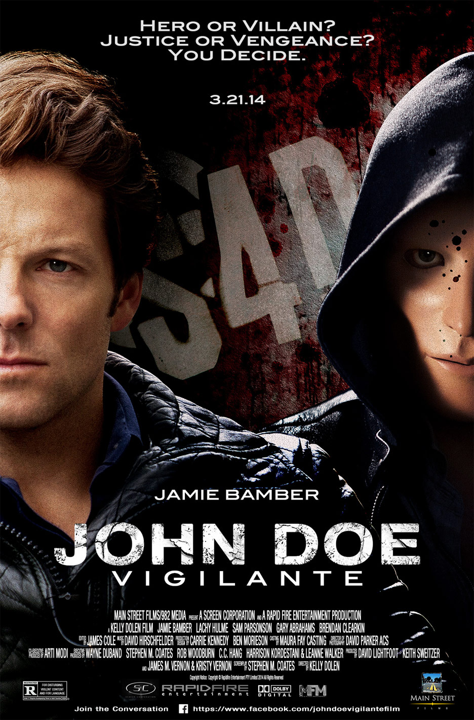 John Doe: Vigilante Poster #1