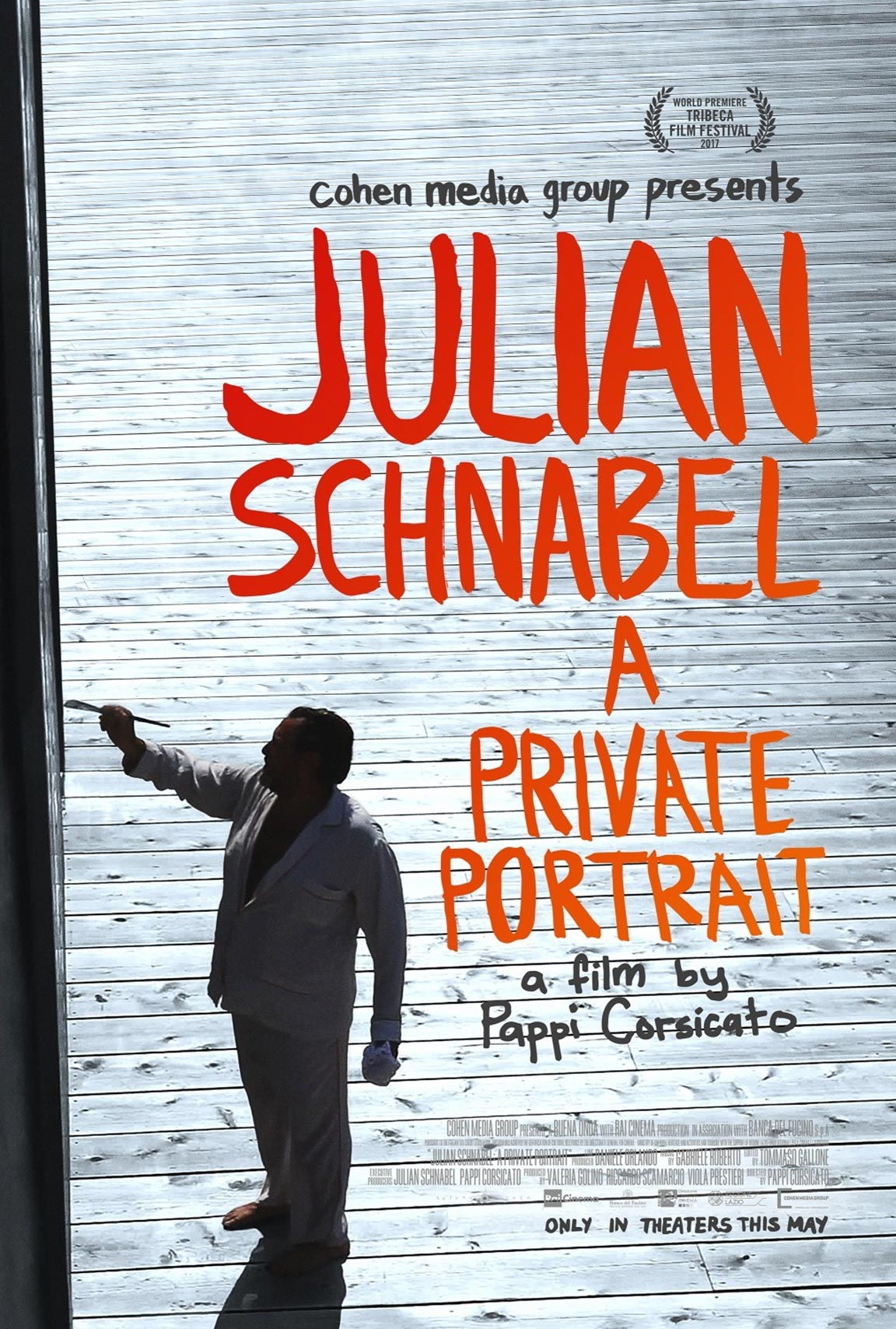 Julian Schnabel: A Private Portrait Poster #1