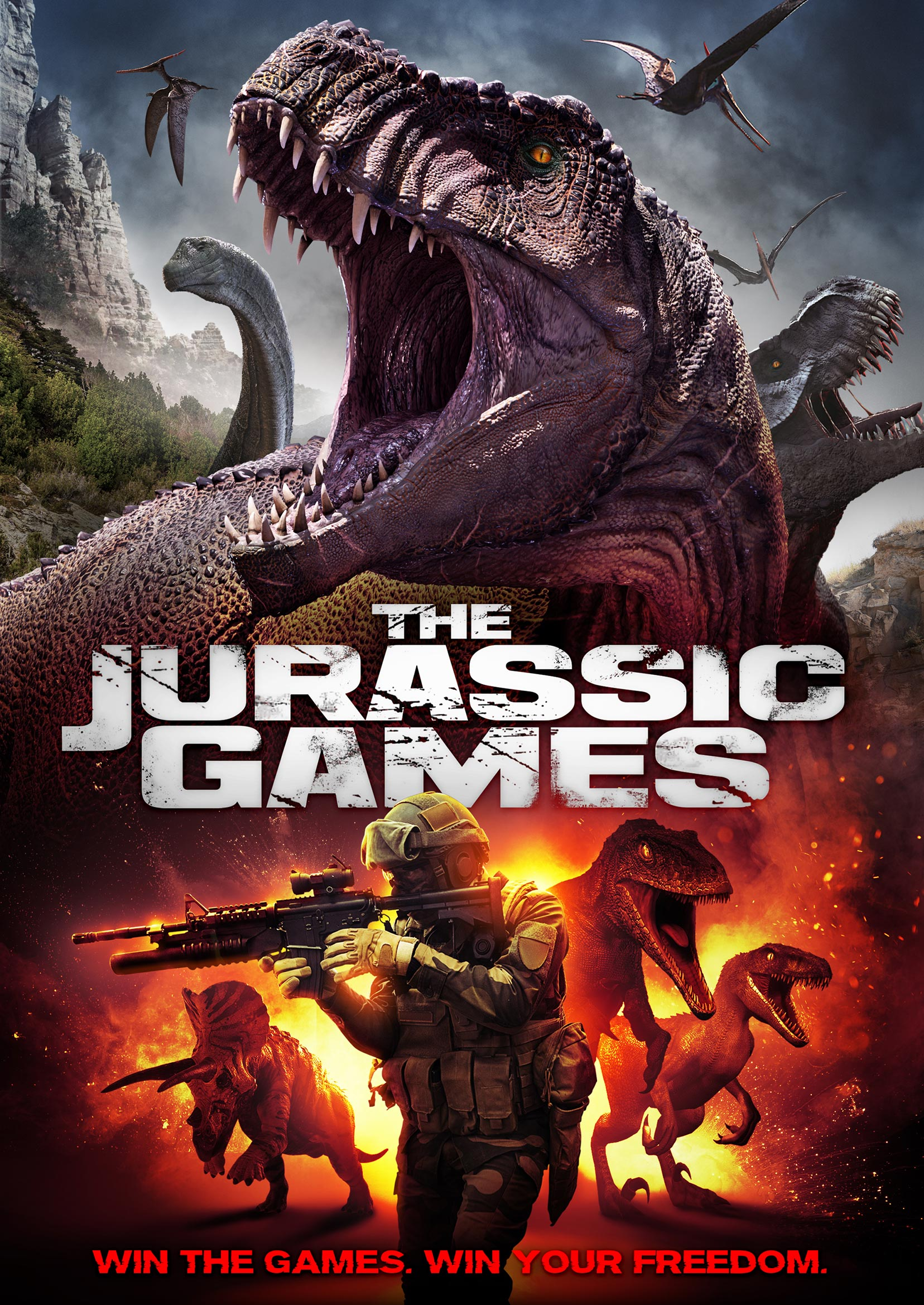 The Jurassic Games Poster #1