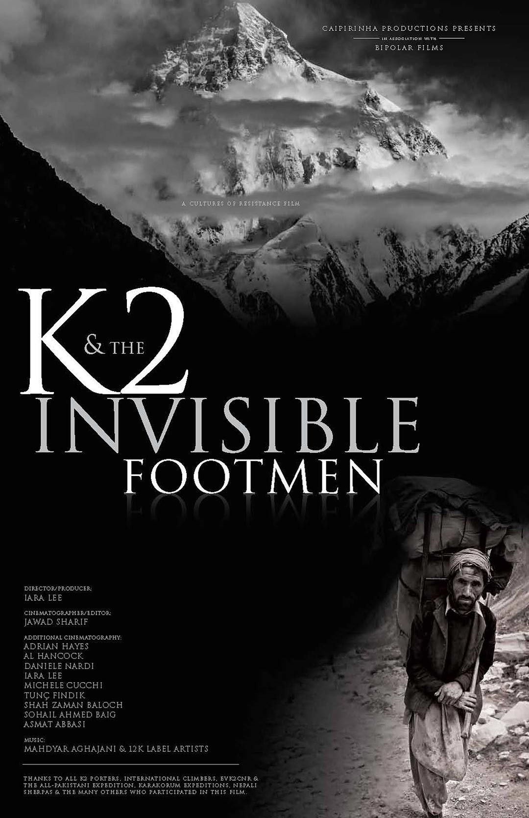 K2 and the Invisible Footmen Poster #1