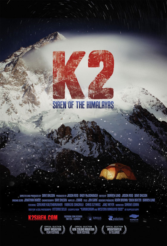 K2: Siren of the Himalayas Poster #1