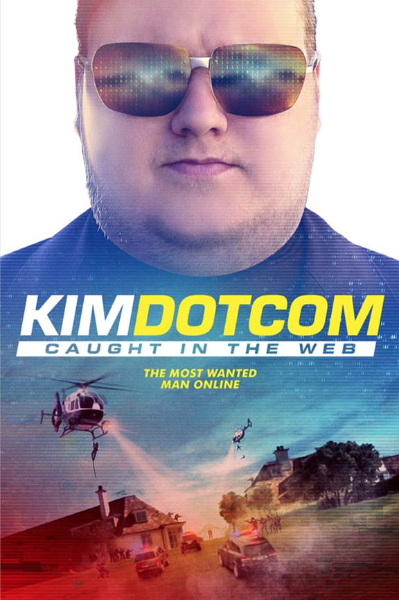 Kim Dotcom: Caught in the Web Poster #1