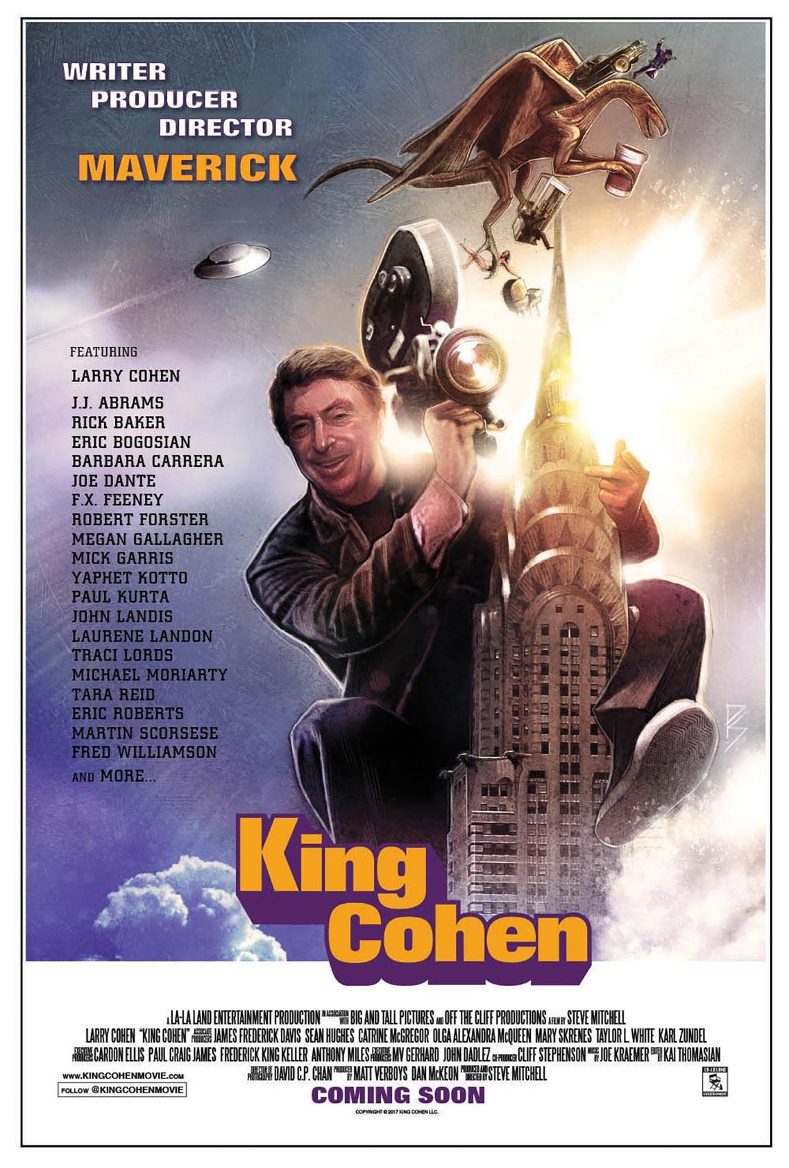 King Cohen: The Wild World of Filmmaker Larry Cohen Poster #1