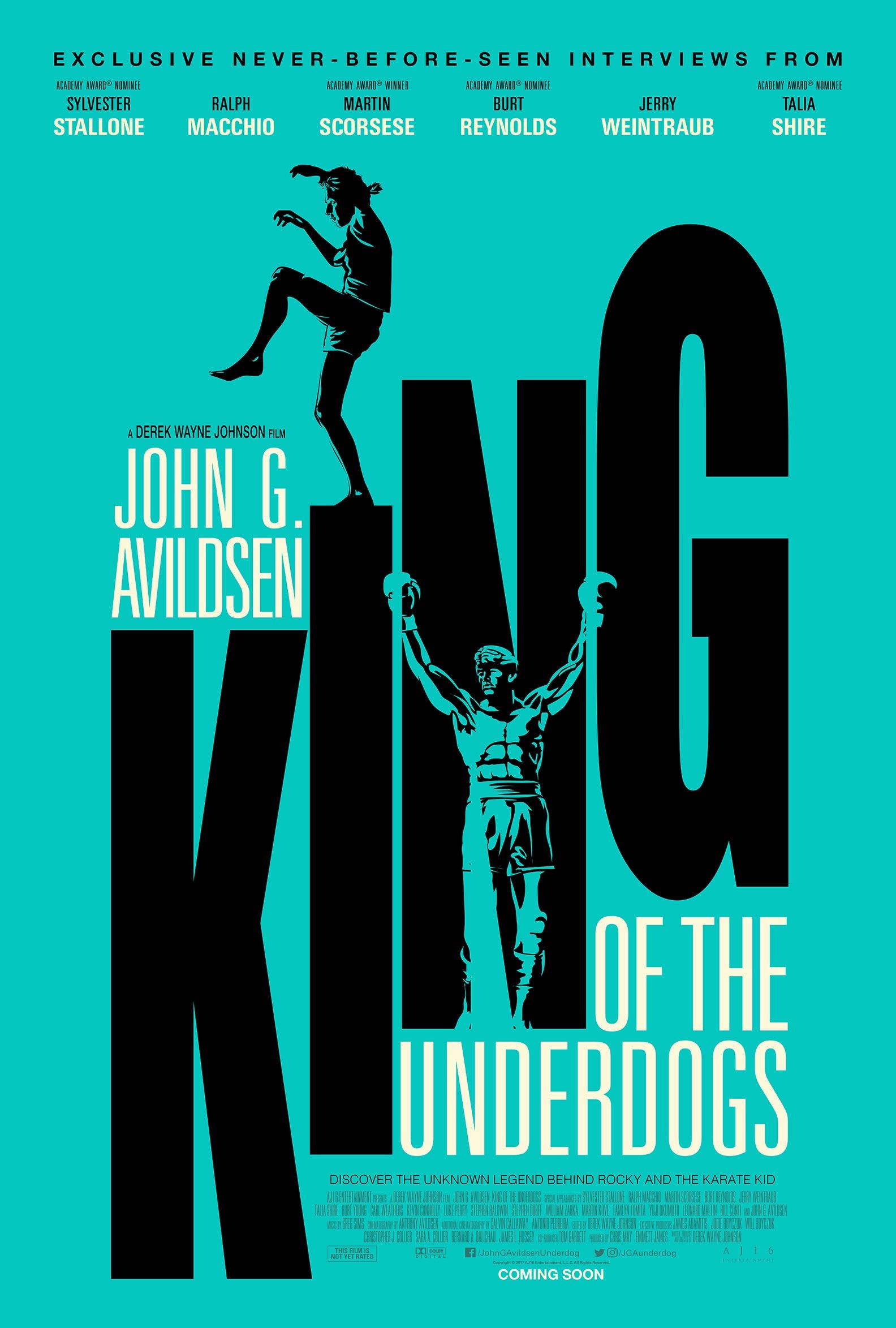 John G. Avildsen: King of the Underdogs Poster #1