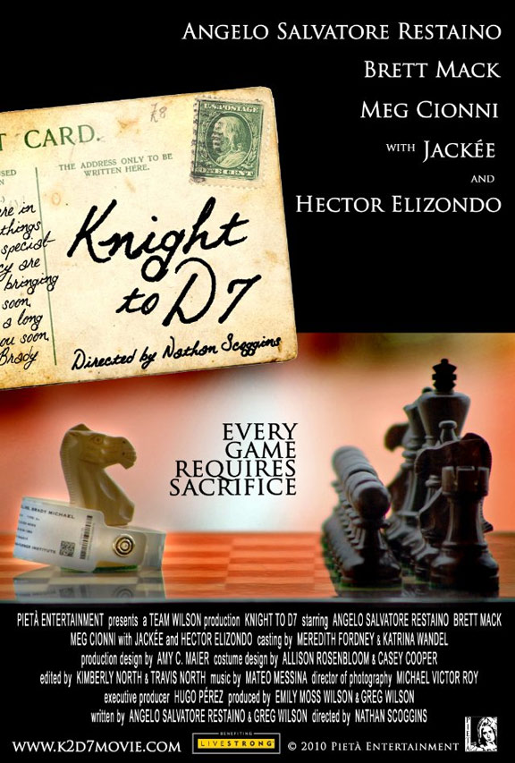 Knight to D7 Poster #1