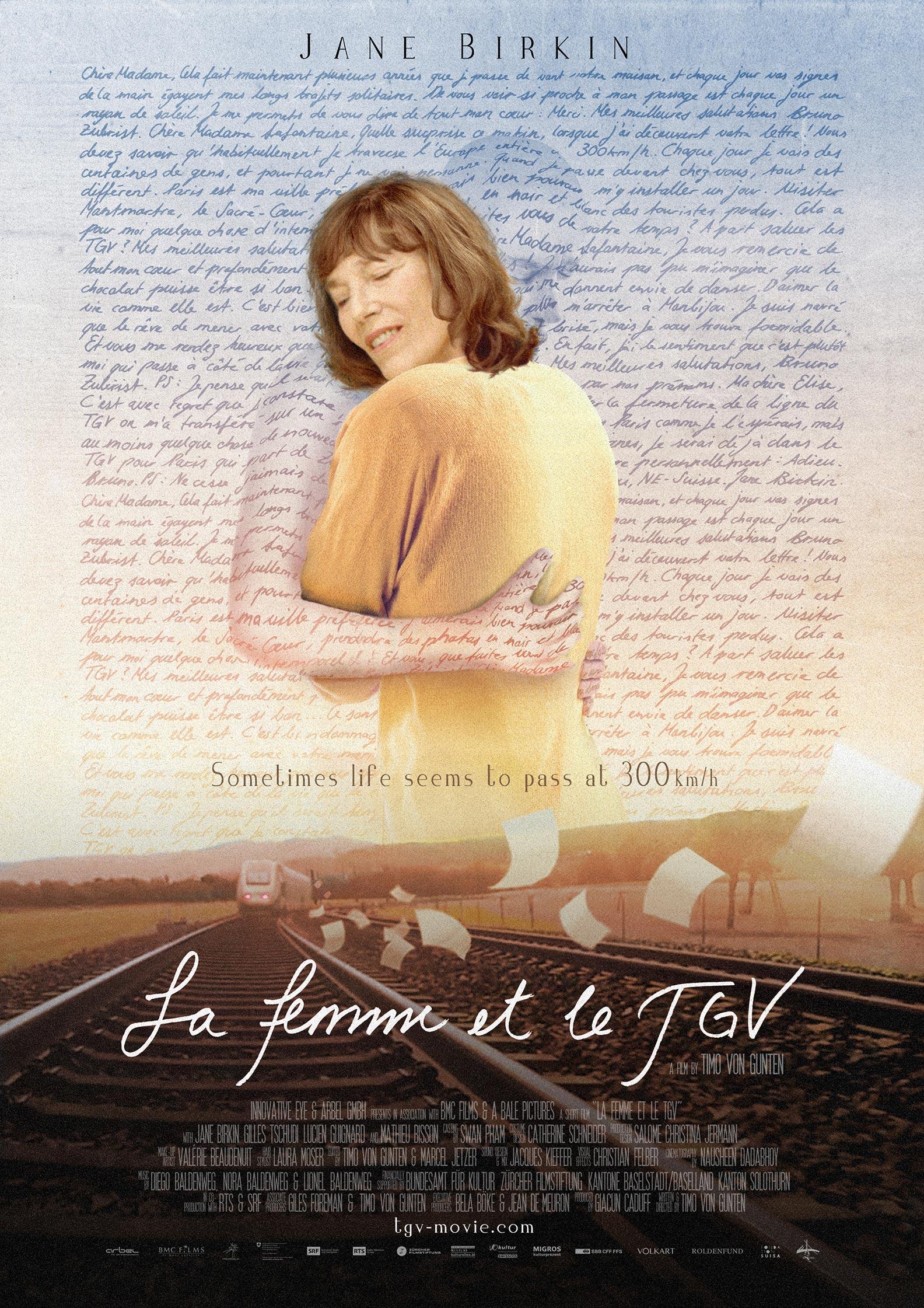 La femme et le TGV Poster #1