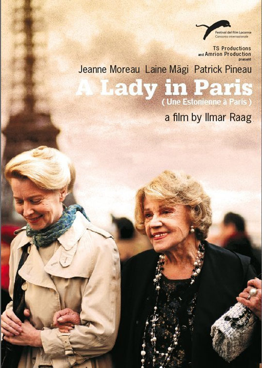 A Lady in Paris Poster #1