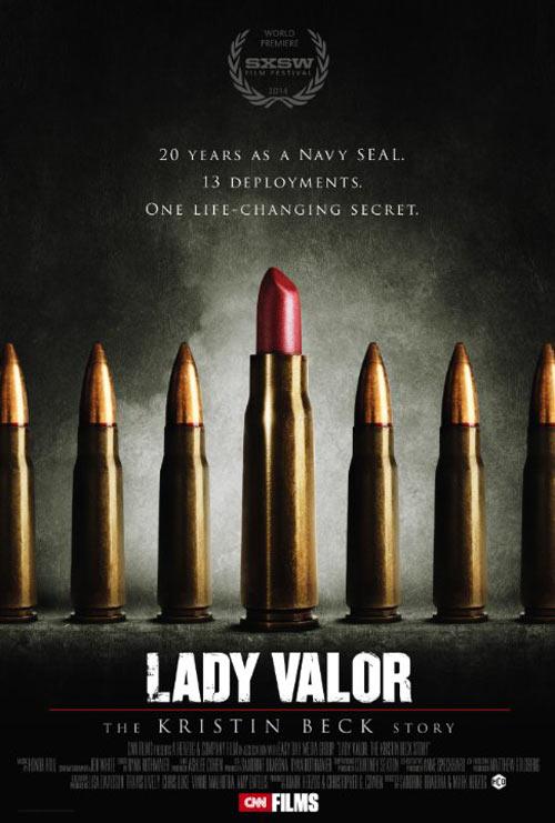 Lady Valor: The Kristin Beck Story Poster #1