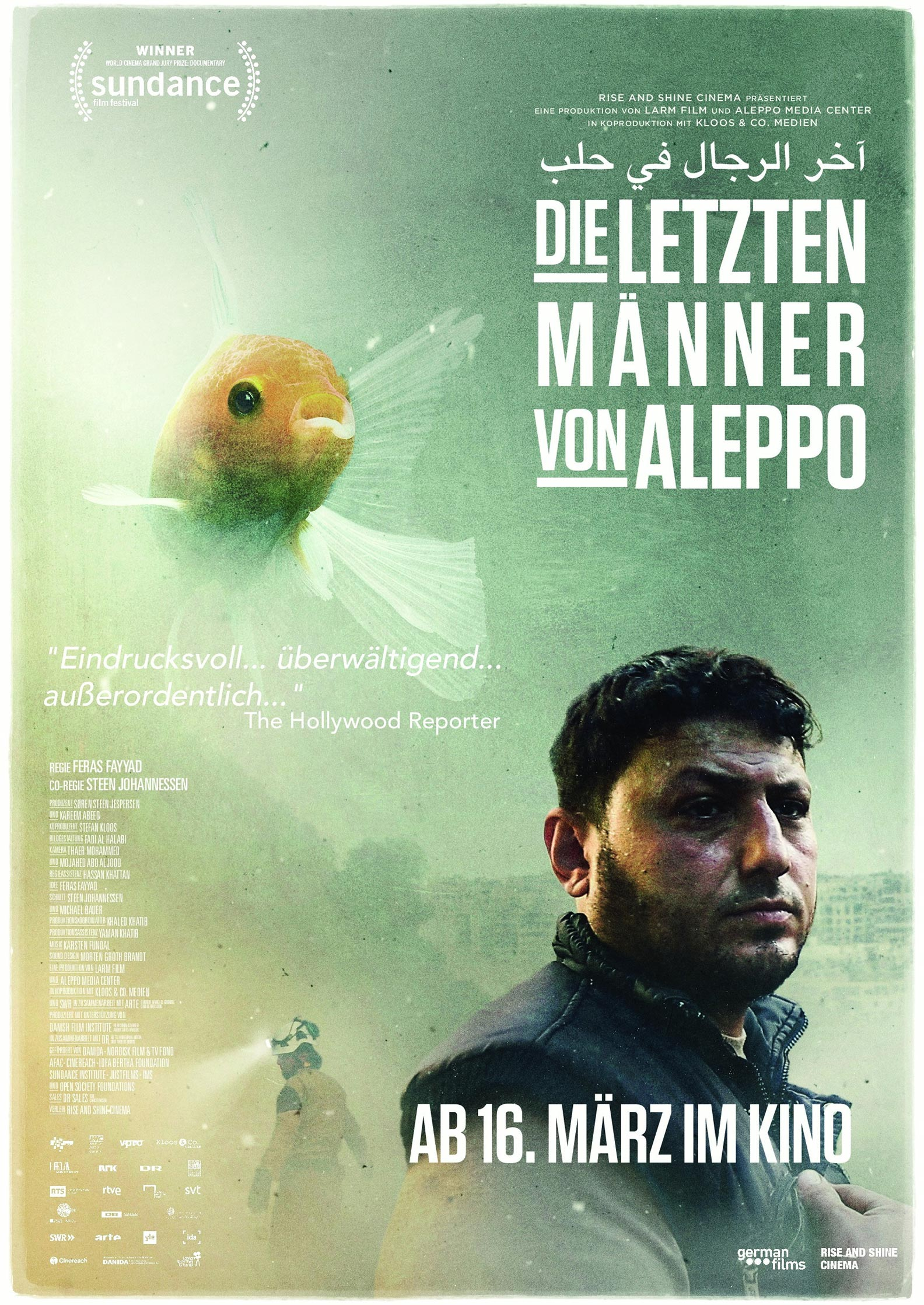 Last Men in Aleppo Poster #1