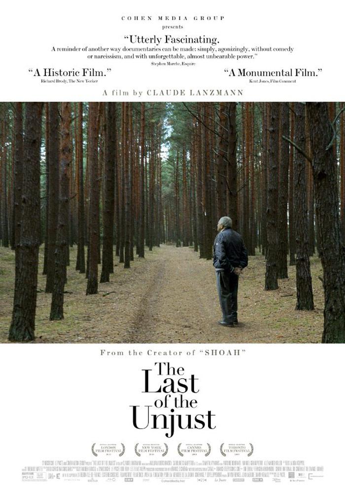 The Last of the Unjust (Le dernier des injustes) Poster #1