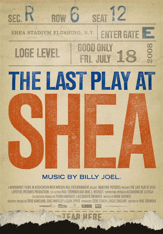 The Last Play at Shea Poster #1