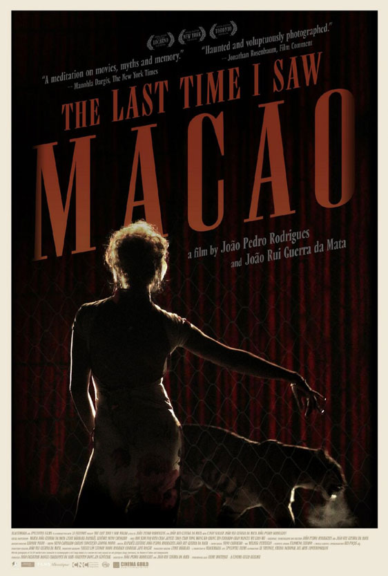 The Last Time I Saw Macao Poster #1