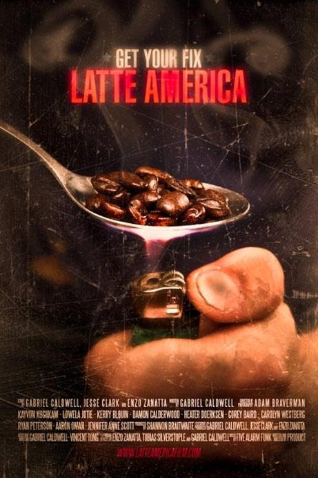Latte America Poster #1