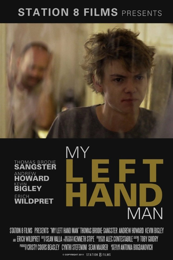 My Left Hand Man Poster #1