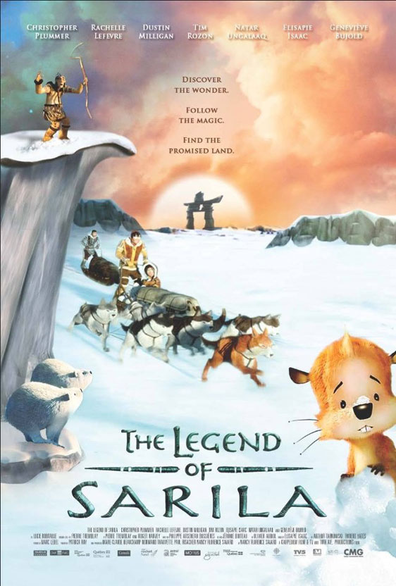 The Legend of Sarila Poster #1