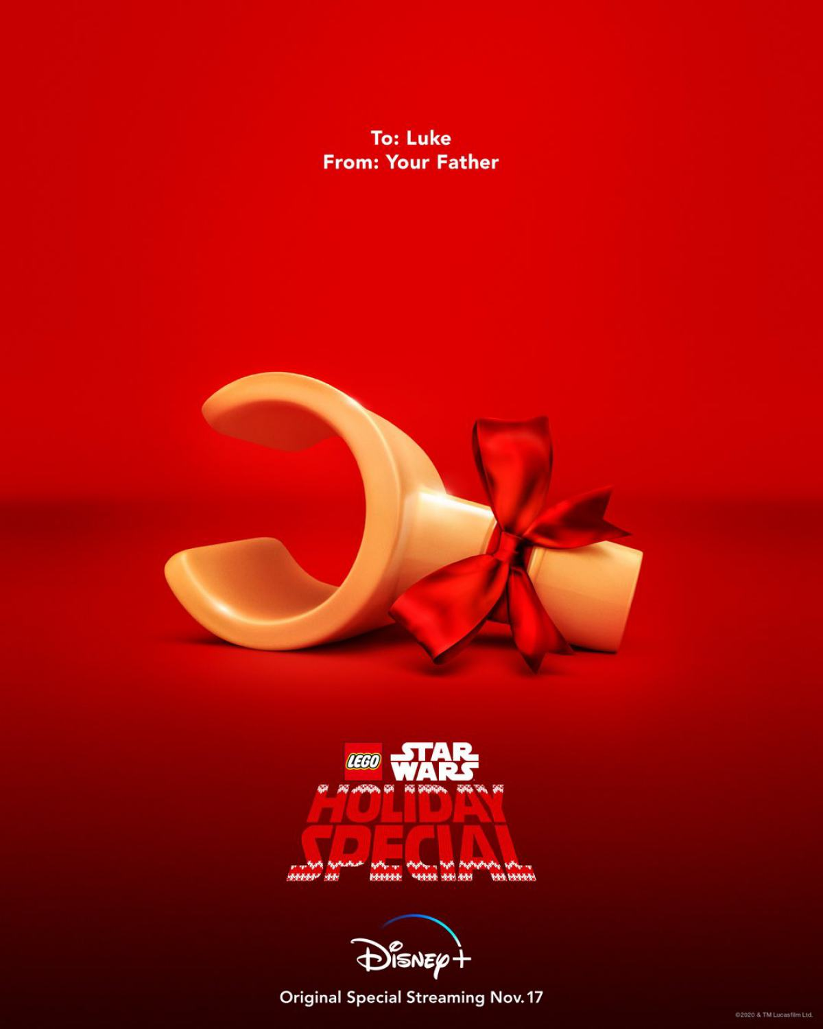 The Lego Star Wars Holiday Special Poster #1