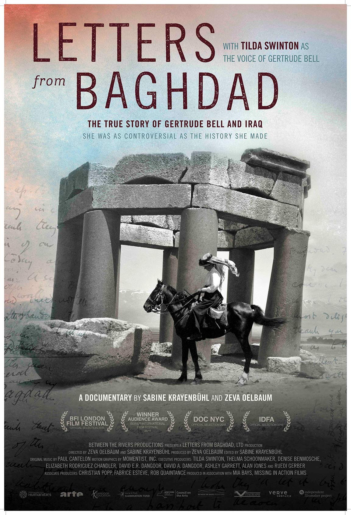 Letters from Baghdad Poster #1