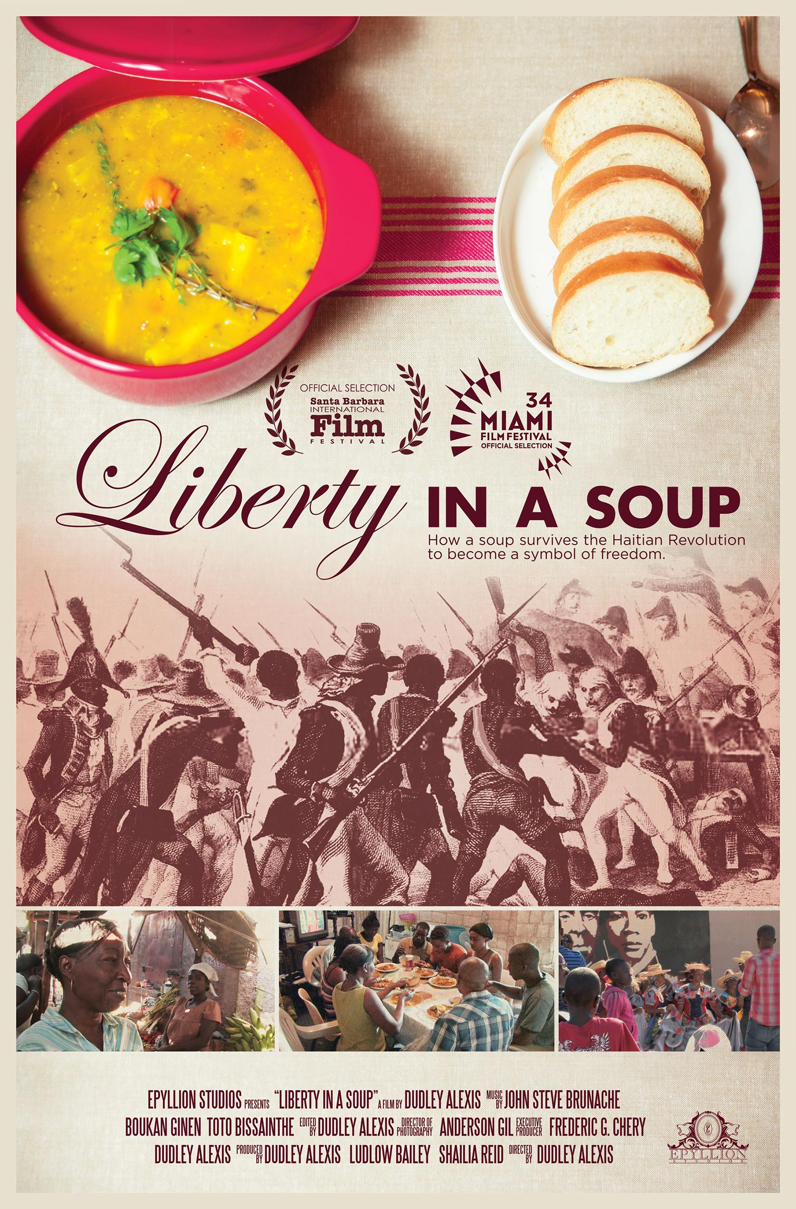 Liberty in a Soup Poster #1