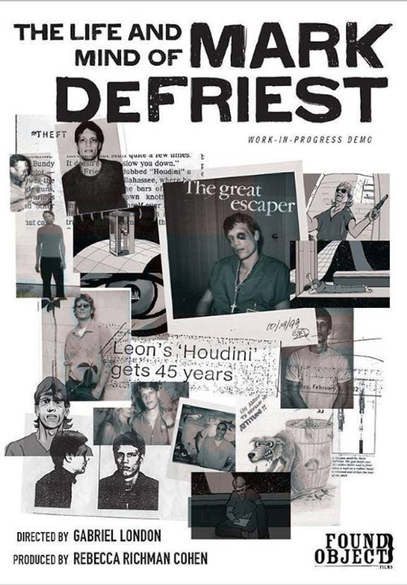 The Life and Mind of Mark DeFriest Poster #1