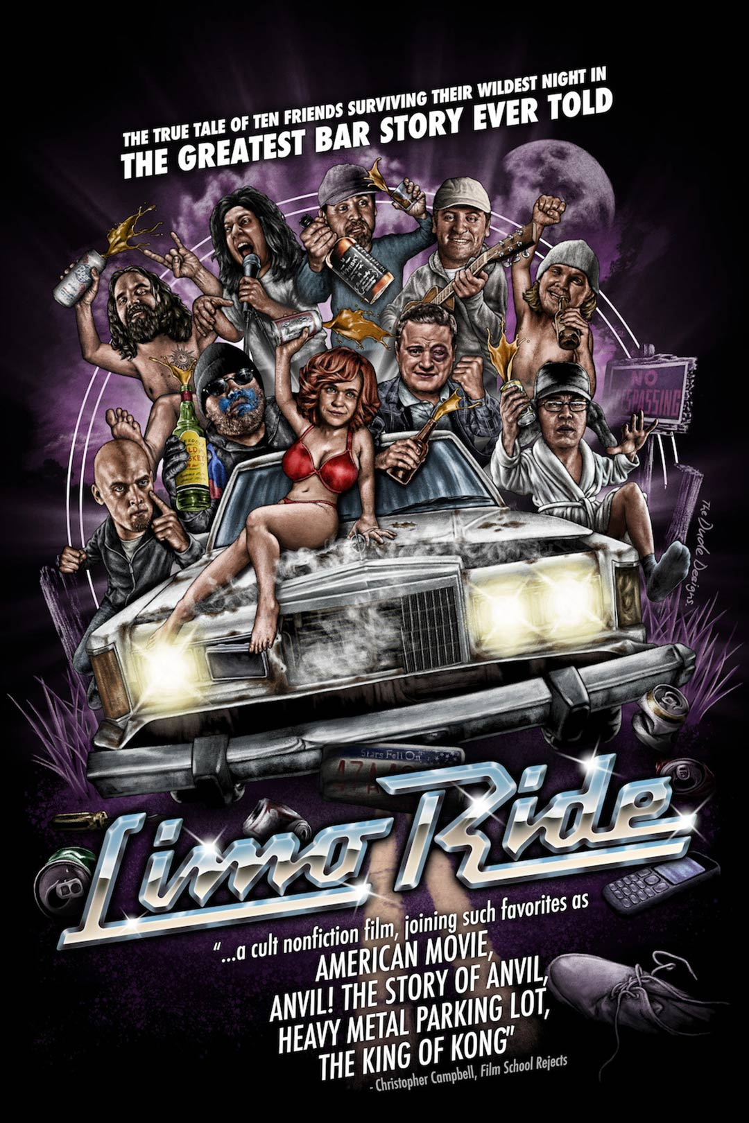 Limo Ride Poster #1