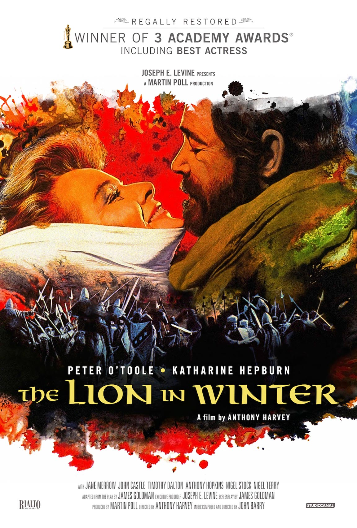 The Lion in Winter Poster #4