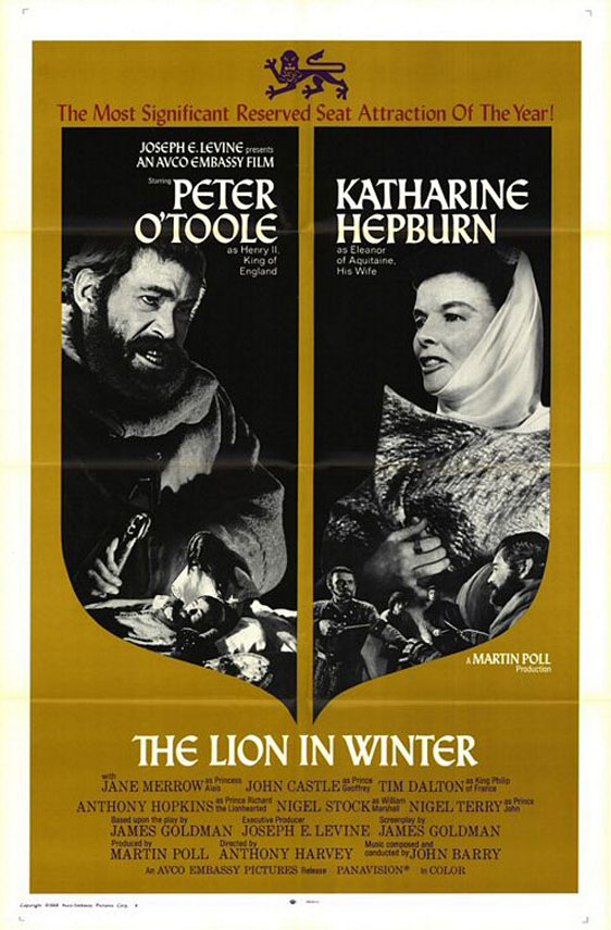 The Lion in Winter Poster #1