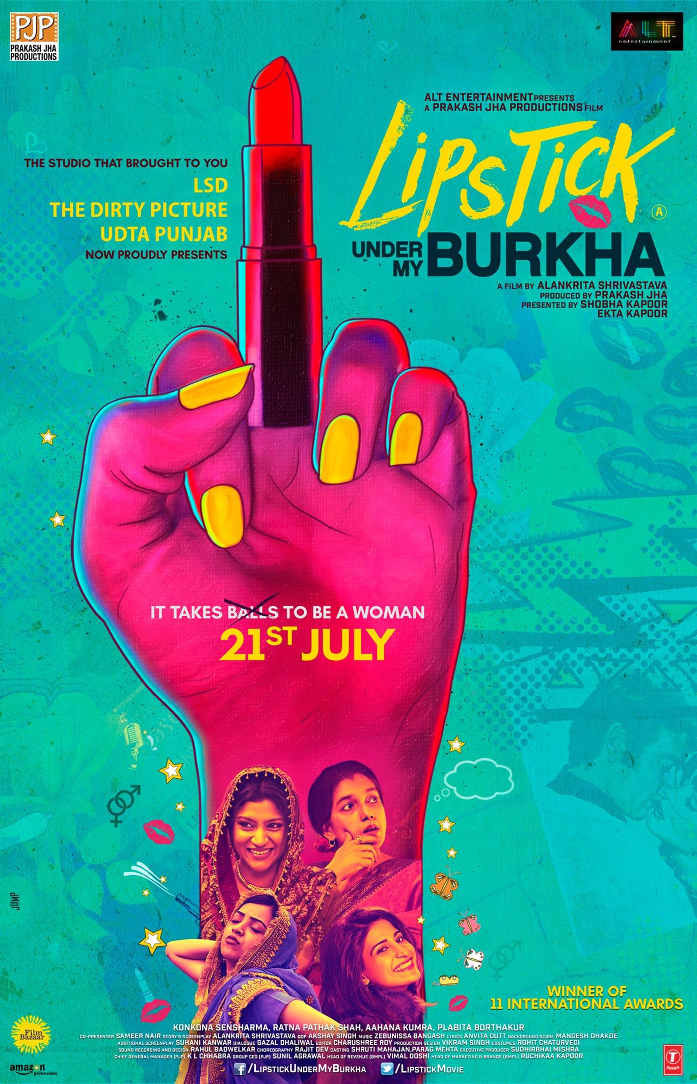 Lipstick Under My Burkha Poster #1