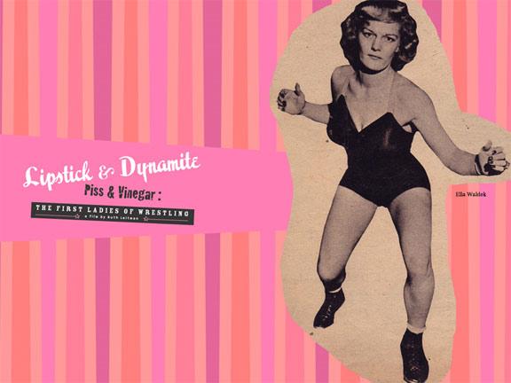 Lipstick & Dynamite Poster #1