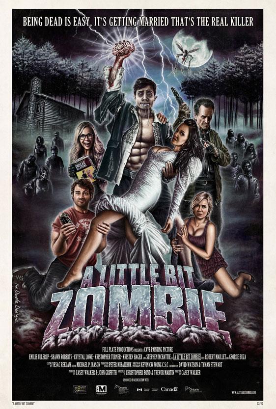 A Little Bit Zombie Poster #2