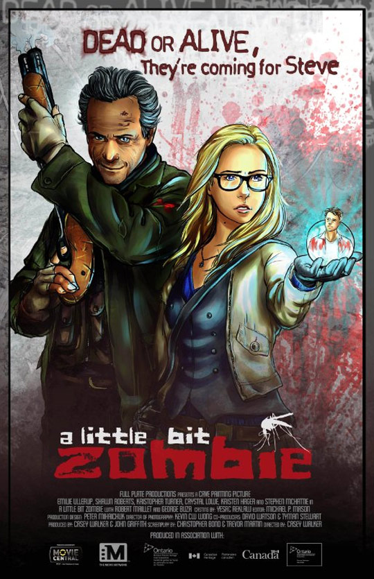 A Little Bit Zombie Poster #1