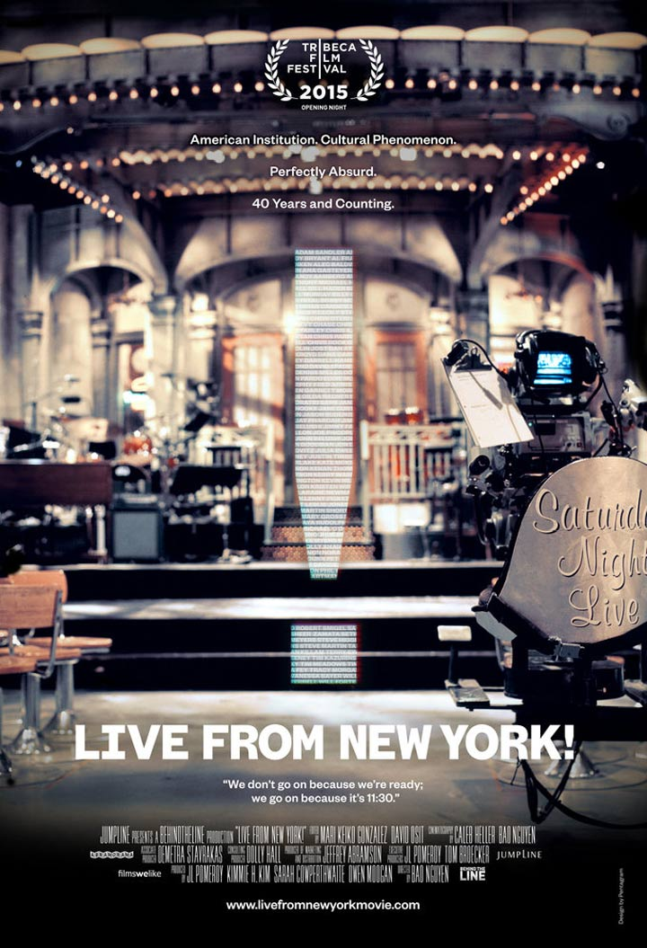 Live From New York! Poster #1