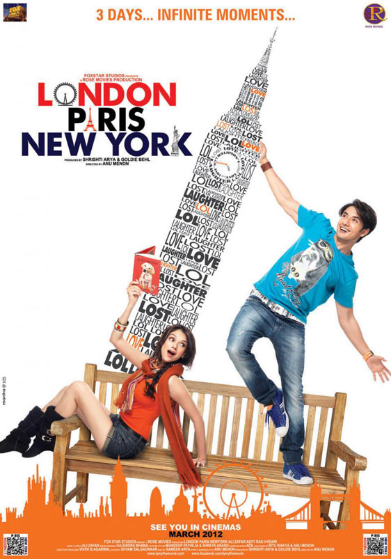 London Paris New York Poster #1