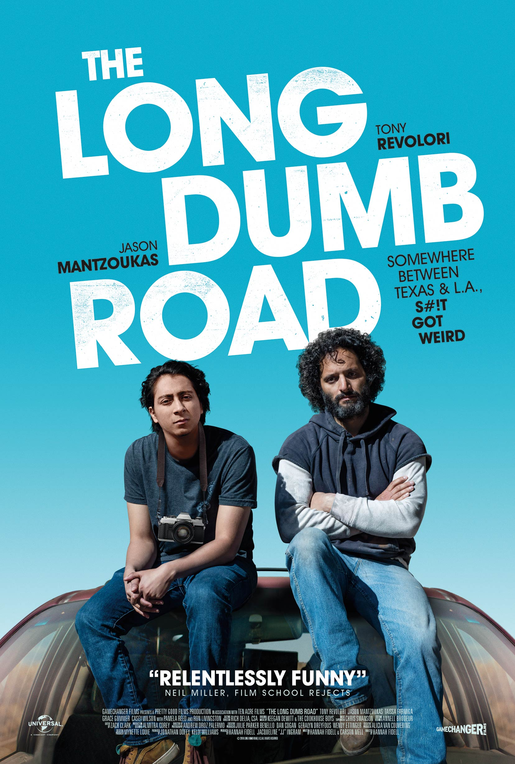The Long Dumb Road Poster #1