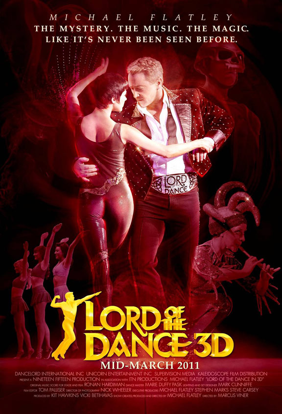 Lord of the Dance 3D Poster #1