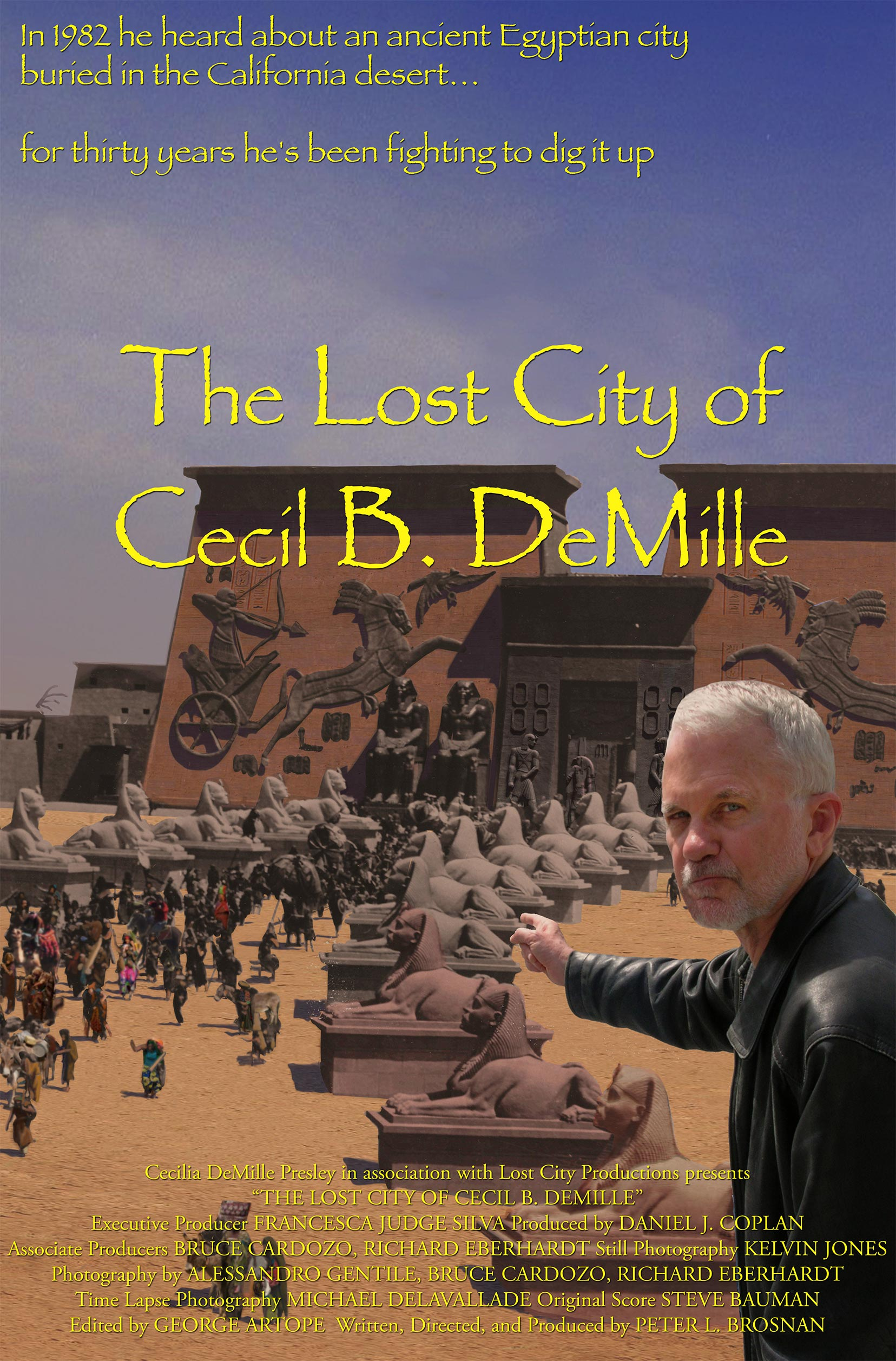 The Lost City of Cecil B. DeMille Poster #1