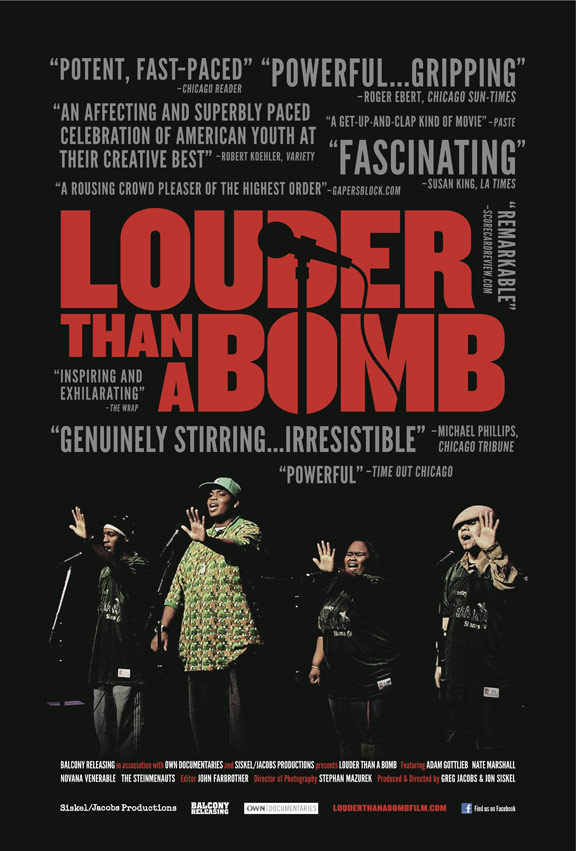 Louder Than a Bomb Poster #1