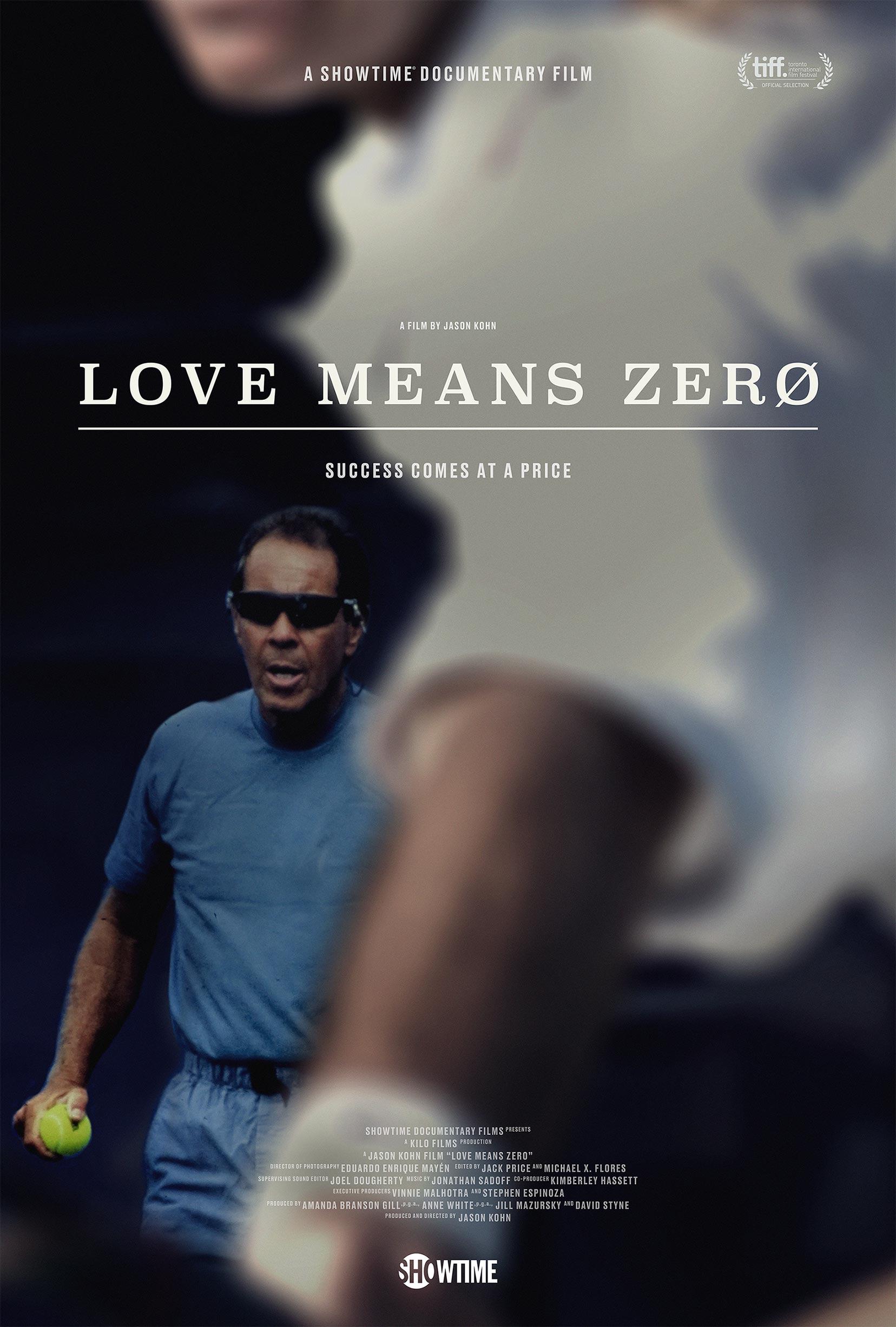 Love Means Zero Poster #1
