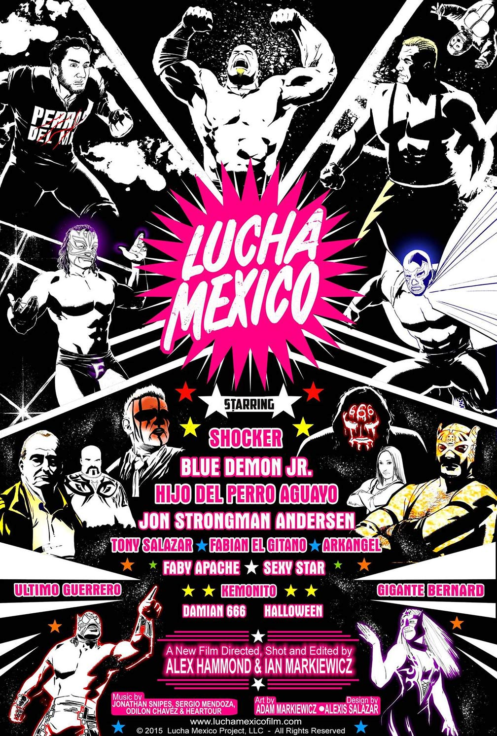 Lucha Mexico Poster #1